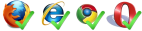 Cross-browser compatiblity!